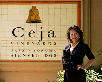 Amelia Ceja at Ceja Vineyards: Photo by Priscilla Zubizarreta Linnemann