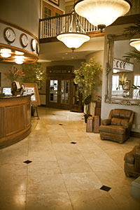 The Hangar Hotel Lobby - Photo provided by the Hangar Hotel